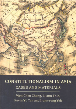 Constitutionalism in Asia Cases and Materials