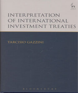 Interpretation of International Investment Treaties