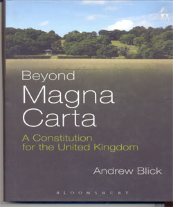 Beyond Magna Carta A Constitution for the United Kingdom