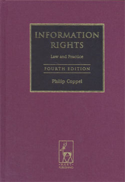Information Rights Law and Practice 4ed.