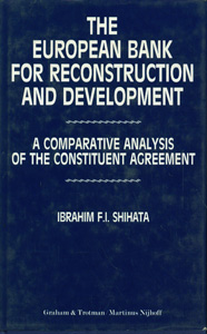 The European Bank for Reconstruction and Development