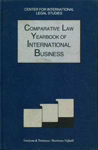 Comparative Law Yearbook of International Business, Vol-13, 1991