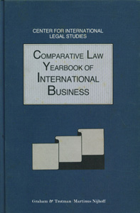 Comparative Law Yearbook of International Business, Vol-15, 1993