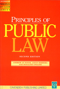 Principles of Public Law 2/ed
