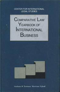Comparative Law Yearbook of International Business, Vol-16, 1994