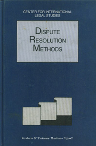 Dispute Resolution Methods 1994