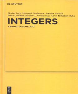 Integers Annual Volume 2013