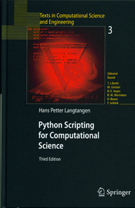 Python Scripting for Computational Science 3rd/Ed