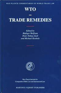 WTO - Trade Remedies