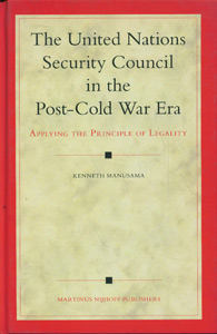 The United Nations Security Council in the Post-Cold War Era