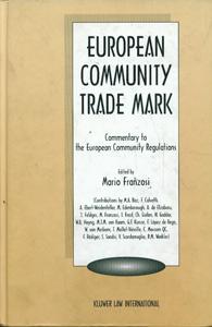 European Community Trademark, Commentary to the European Community Regulations