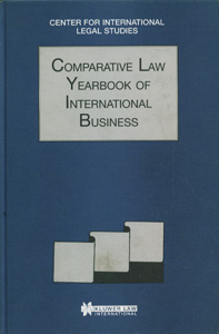 Comparative Law Yearbook Of International Business, Vol-18, 1996
