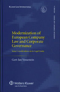Modernization of European Company Law and Corporate Governance: Some Considerations on Its Legal Limits