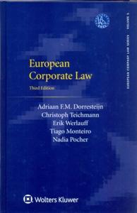 European Corporate Law 3Ed.