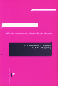 Effective Resolution of Collective Labour Disputes