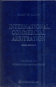 International Commercial Arbitration 3Ed. 3 Vol.Set